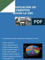 Clasificación Calificación SBS Provisiones