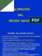 Clase 01 Examen Físico Del RN 1