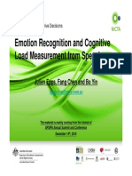 Emotion Recognition and Cognitive