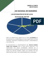 Elecciones Del Nuevo Rector 2015