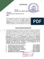 REVOCATORIA DE MANDATOS DE CPN DE EL FRENTE AMPLIO POR JUSTICIA VIDA Y LIBERTAD