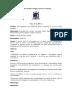 Modelo de Formulário Para Minicursos e Oficina Prática de Biologia