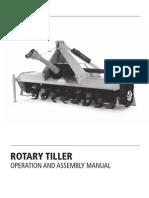 Tarter Rotary Tiller Manual REVERSING Smooth Top HR