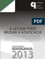 Sociedades de Advogados 2013