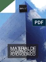 OnyxSolar Corporate Brochure BIPV Bureau ES