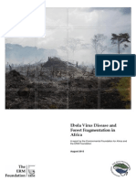 Evd and Forest Fragmentation in Africa Report