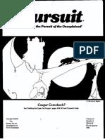 Pursuit Magazine, No 60-70 Combined