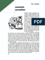 Economics of Cybernation