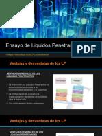 Ensayo de Liquidos Penetrantes (LP)