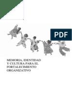 Gomez,o.memoria Identidad Cultura Para Fortalecimiento Organizativo