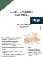 Complicaciones Sistemicas de La Pancreatitis