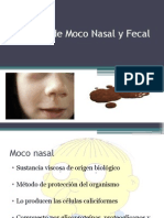 Citología de Moco Nasal y Fecal