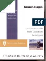 Criminologia -Ciencias Penales