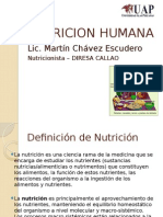 Nutricion Humana Clase 1