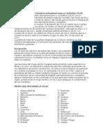 Comunidad de Estados Latinoamericanos y Caribeños CELAC