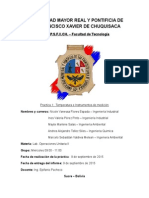 Informe 1 - Temperatura e Instrumentos de Medicion