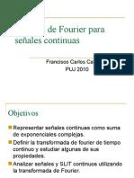 Analisis de Fourier Continuo