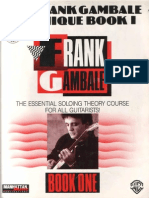 The Frank Gambale Technique Book 1