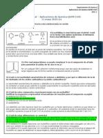 Examen Final Química Orgánica 2015-1-1 Soluciones