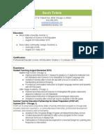 tolmie resume