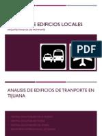 Análisis de Edificios de transporte tijuana