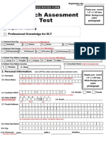 ELT Registration Form