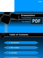 Report Ppt Template 028