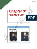Ch. 31 Faradays Law