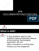 Week 5 - APA Documentation and Citations 1HW12