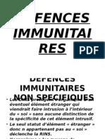 Defences Immunitaires