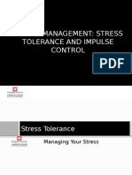 Week 9- Stress Management, Stress Tolerance and Impulse Control 1HW12