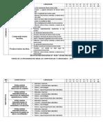 Matriz de Programación 2015
