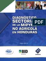 Diagnostico Sectorial de La MIPYME No Agricola en Honduras