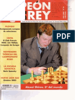 Chess.revista Peon de Rey No.24 Año 2003