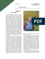 Ecología - Juan Carlos Chebez -Obituario-masozoologia-neotropical