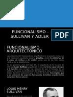 Funcionalismo - Sullivan y Adler