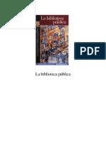 Para Creacion de BibliotecaPublica