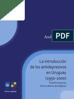 Beilli - introduccion a los antidepresivos en uruguay