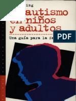 El Autismo en Ninos y Adultos-JPR