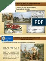1 FUNDACION DE CIUDADES - LEYES DE INDIAS.ppt