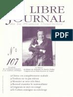 Libre Journal de la France Courtoise N°107