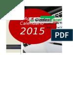 Agenda Calendario 2015 ClasesExcel