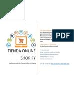 Crear Una Cuenta en Shopify