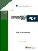 Perfil Sistema Huamantanga