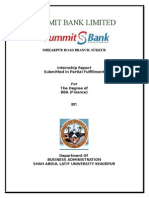 Internship Report Summit Bank
