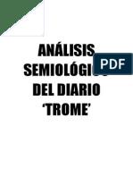 Analisis Semiológico del diario Trome