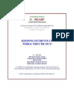 G-SHARP Info Packet