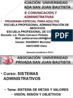 3ra. Sistemas IV p.e.a.adm