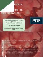 Eritroblastosis aFetal e