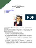 Ultimos Gobiernos Peru
